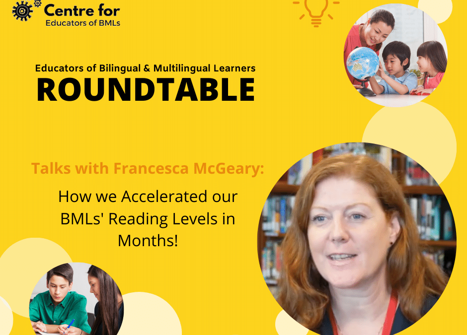 #ROUNDTABLE: How we Accelerated our BMLs' Reading Levels in Months